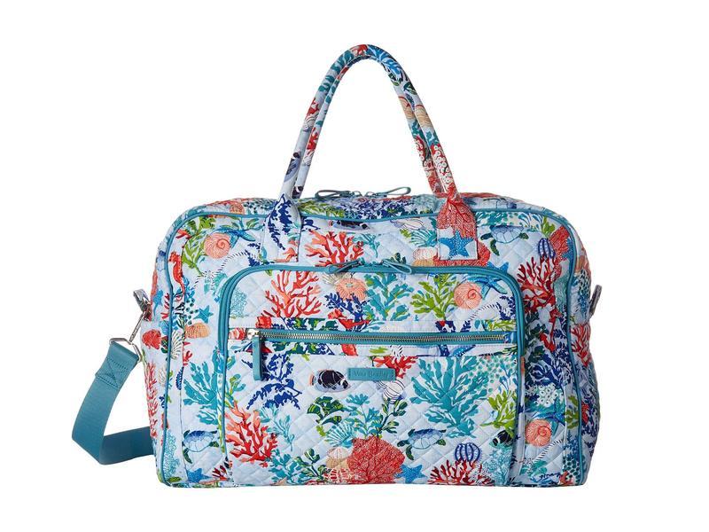 ベラブラッドリー レディース ボストンバッグ バッグ Iconic Weekender Travel Bag Shore Thing