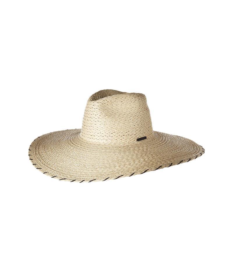 ヴィンスカムート レディース 帽子 アクセサリー Embroidered Panama Natural