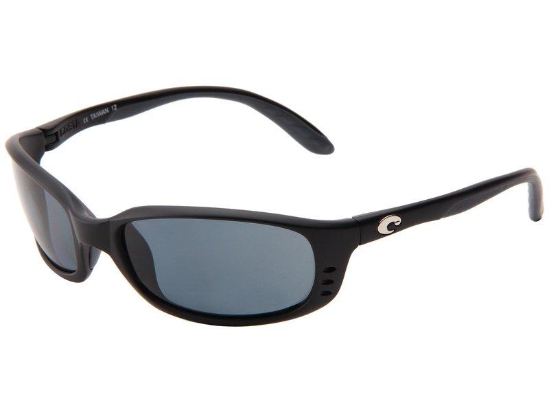コスタ メンズ サングラス・アイウェア アクセサリー Brine 580 Plastic Lens Black/Gray 580 Plastic Lens