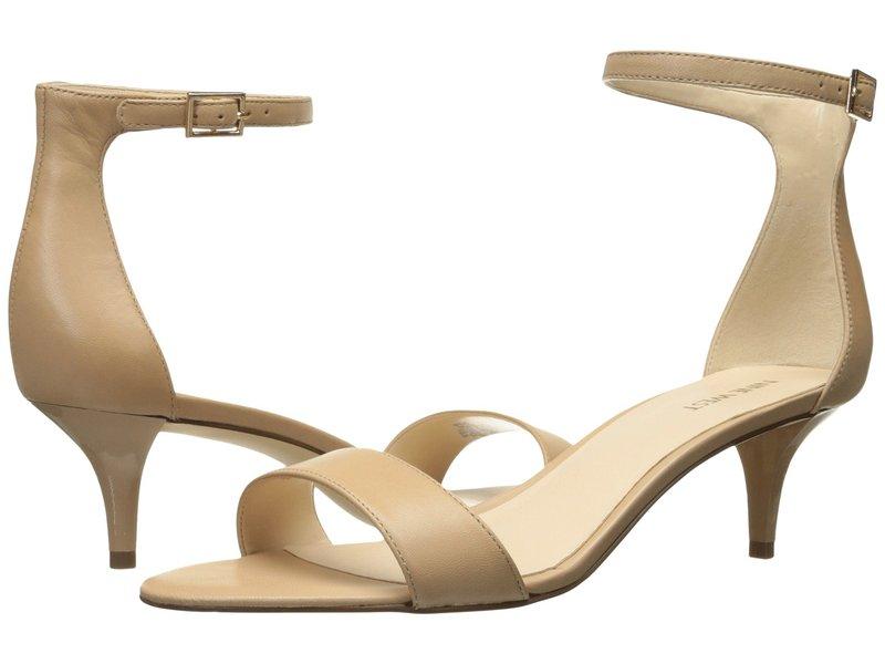 ナインウェスト レディース サンダル シューズ Leisa Heel Sandal Natural Leather