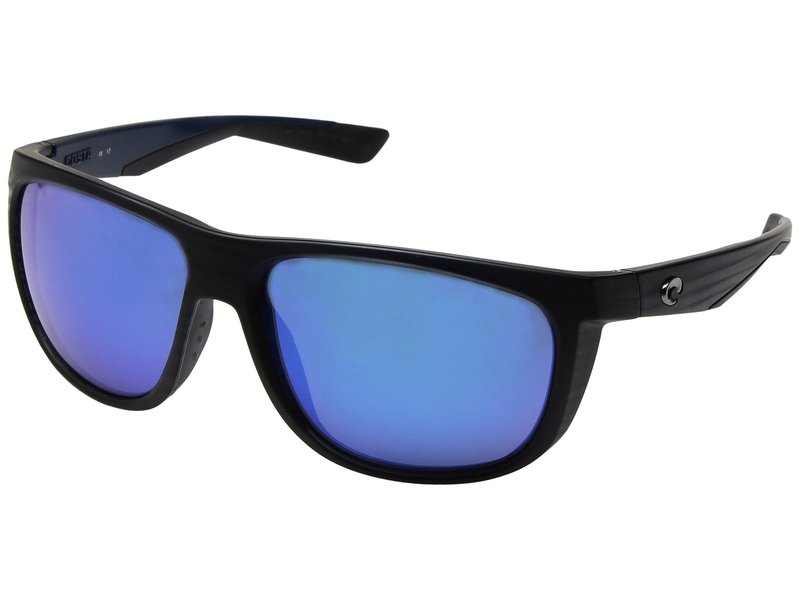 コスタ メンズ サングラス・アイウェア アクセサリー Kiwa Matte Black Frame/Blue Mirror Glass W580