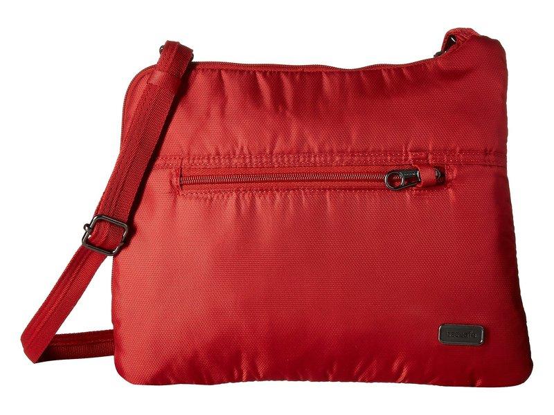 パックセーフ レディース ハンドバッグ バッグ Daysafe Anti-Theft Slim Crossbody Bag Baked Apple