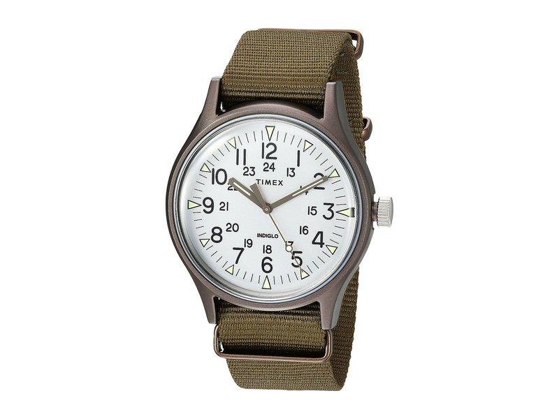 タイメックス メンズ 腕時計 アクセサリー MK1 Aluminum 3-Hand Olive/Silver