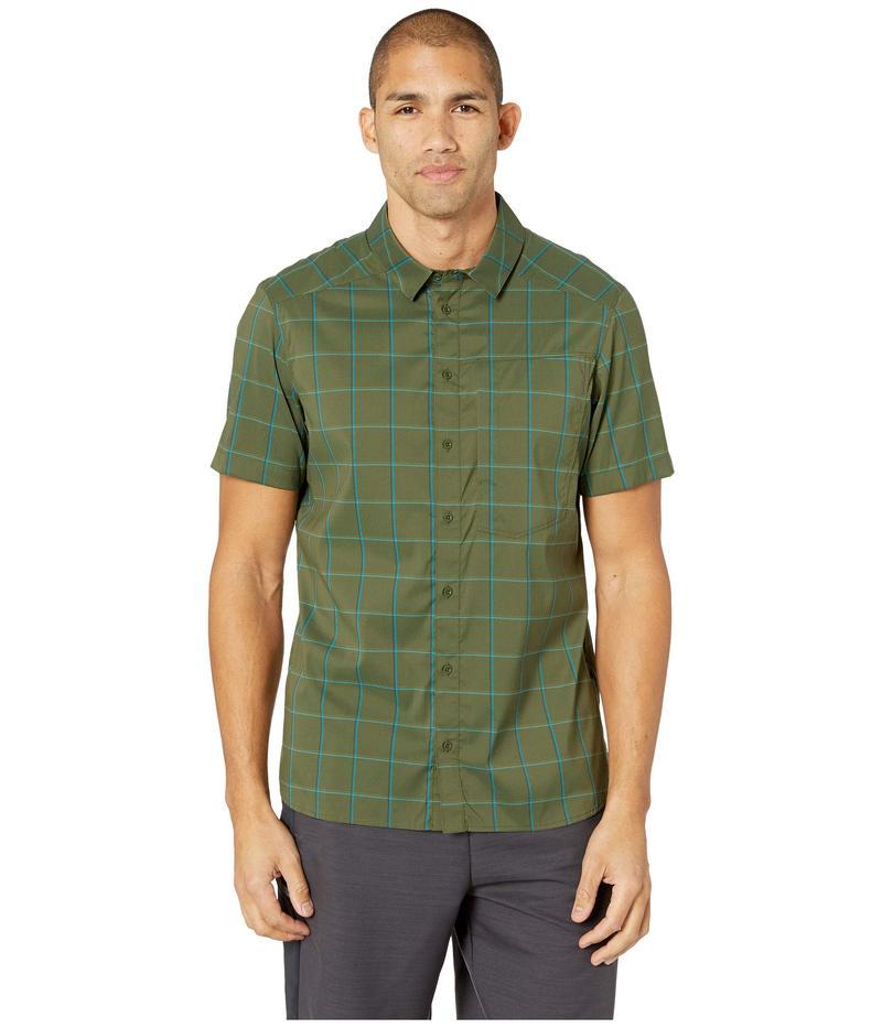 アークテリクス メンズ シャツ トップス Riel Shirt Short Sleeve Loggerhead