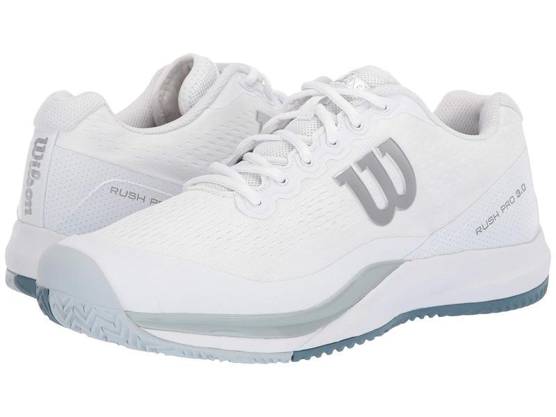 ウィルソン メンズ スニーカー シューズ Rush Pro 3.0 White/Pearl Blue/Bluestone
