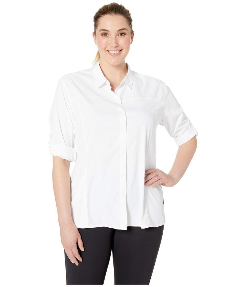 ホワイトシエラ レディース シャツ トップス Gobi Plus Size Gobi Desert Long シャツ レディース Sleeve Shirt True White, コスメドリーム:097ff6c0 --- sayselfiee.com