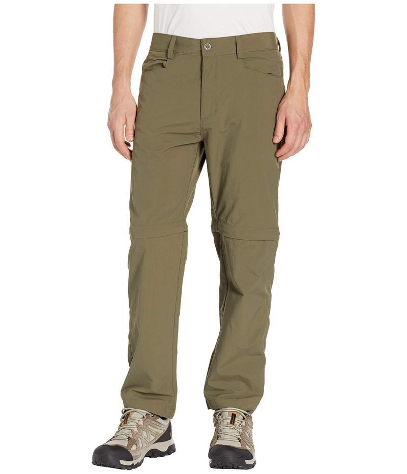 ホワイトシエラ メンズ カジュアルパンツ ボトムス Sierra Point Convertible Pants Dark Olive