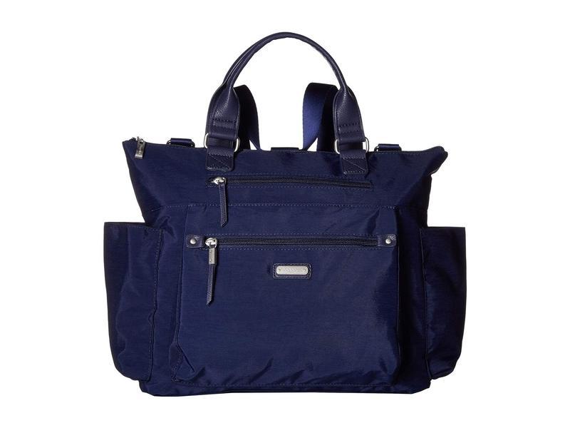 バッガリーニ レディース バックパック・リュックサック バッグ 3-in-1 Convertible Backpack with RFID Phone Wristlet Navy