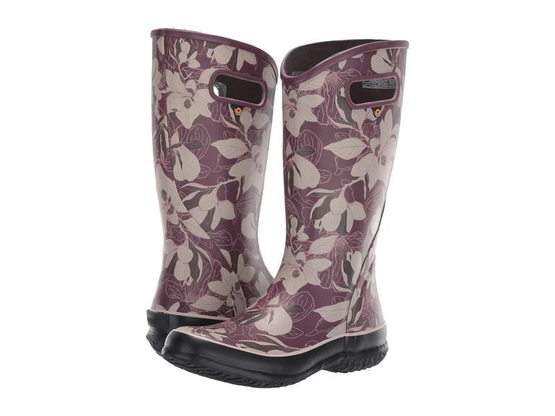 ボグス レディース ブーツ・レインブーツ シューズ Spring Vintage Rain Boot Violet Multi
