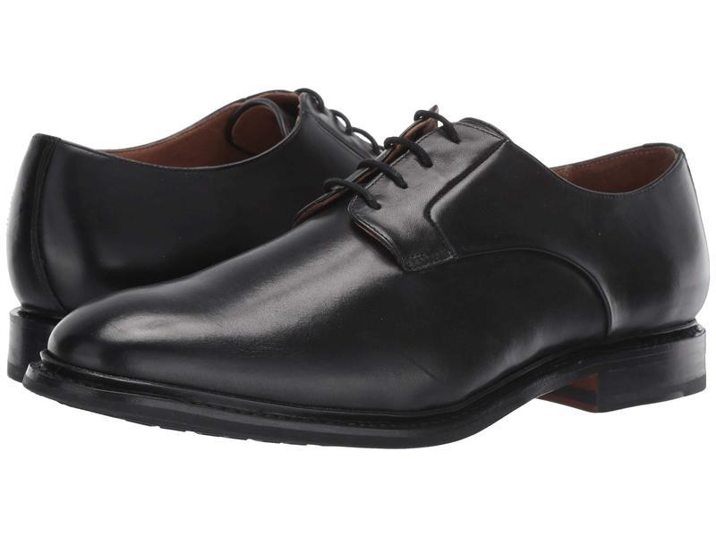 ボストニアン メンズ オックスフォード シューズ Bridgeport Low Black Leather