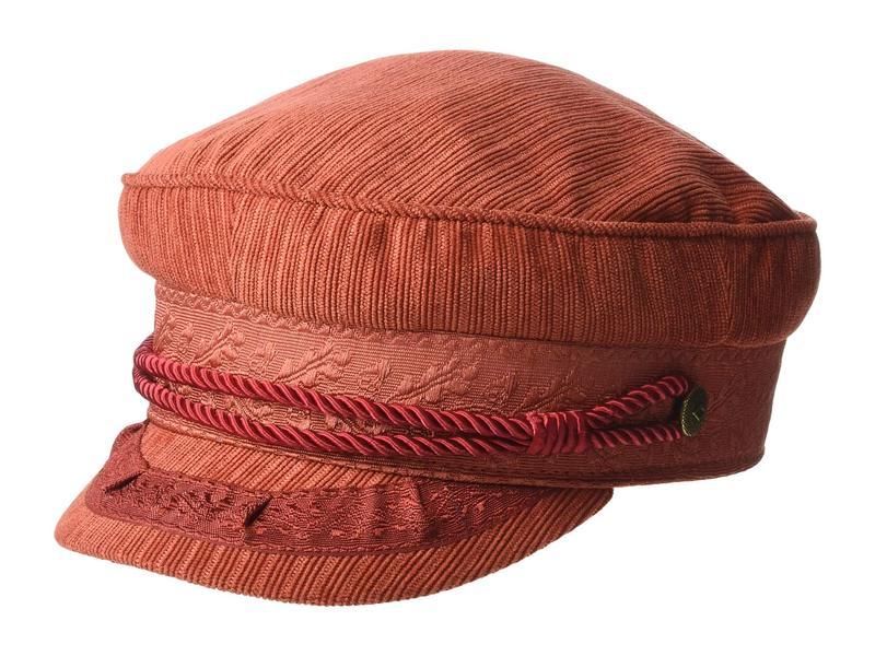 ブリクストン レディース 帽子 アクセサリー Albany Cap Red Clay
