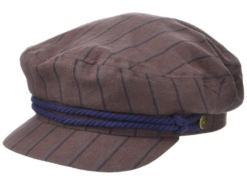 ブリクストン メンズ 帽子 アクセサリー Fiddler Chestnut