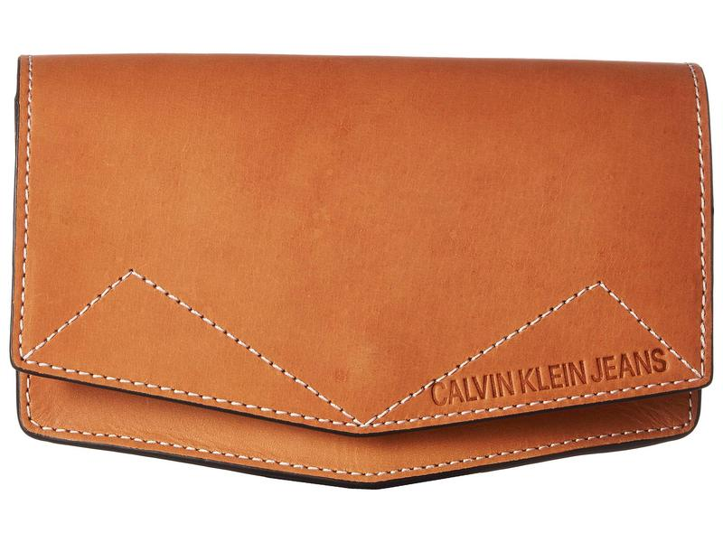 カルバンクライン レディース ボディバッグ・ウエストポーチ バッグ 25 mm Belt Bag Tan