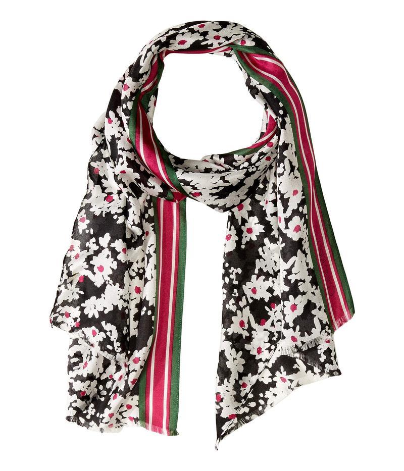 カルバンクライン レディース マフラー・ストール・スカーフ アクセサリー Pop Color Ditsy Floral Silk Scarf Magenta