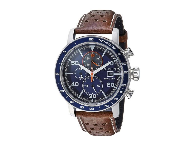 シチズンウォッチ メンズ 腕時計 アクセサリー CA0648-09L Eco-Drive Brown