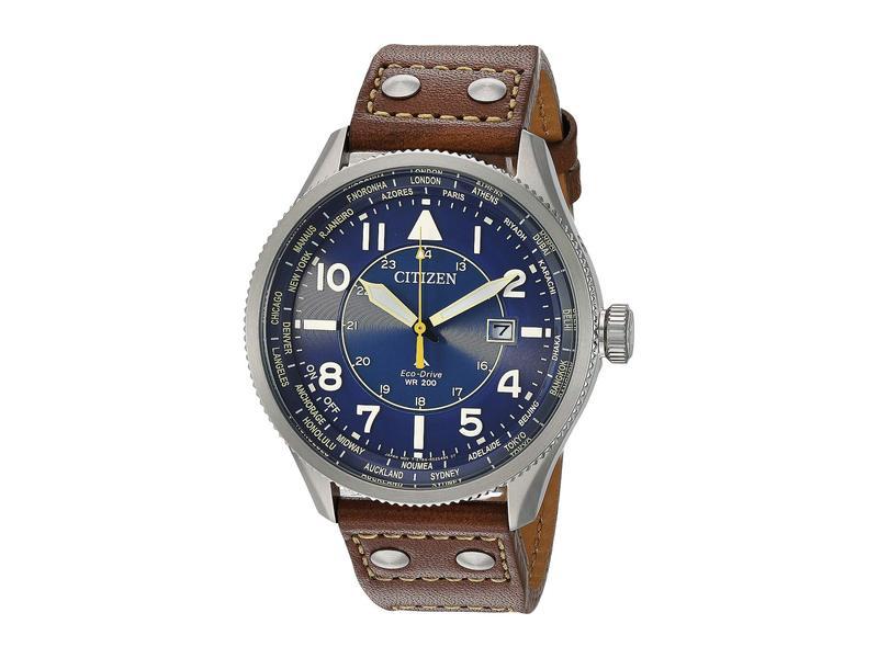 シチズンウォッチ メンズ 腕時計 アクセサリー BX1010-11L Promaster Nighthawk Brown