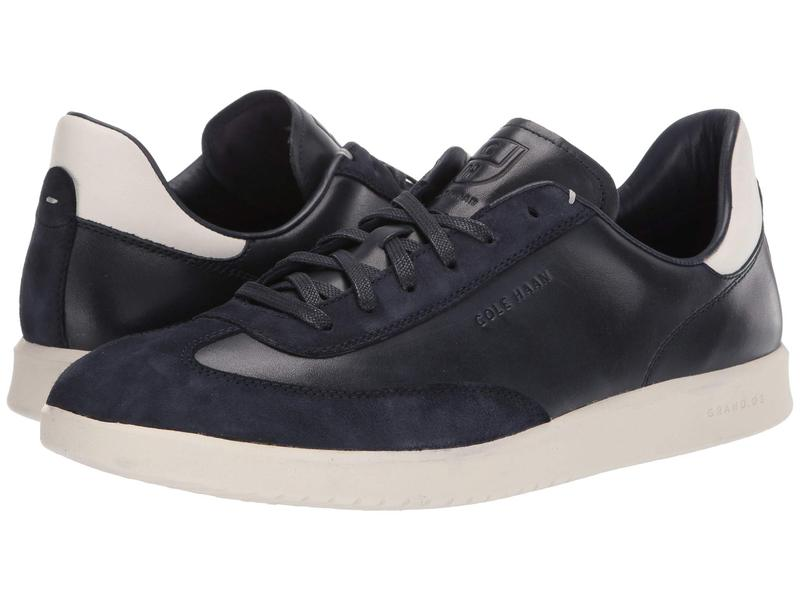コールハーン メンズ スニーカー シューズ Grandpro Turf Sneaker Navy Ink Tumbled/Navy Ink Suede/White