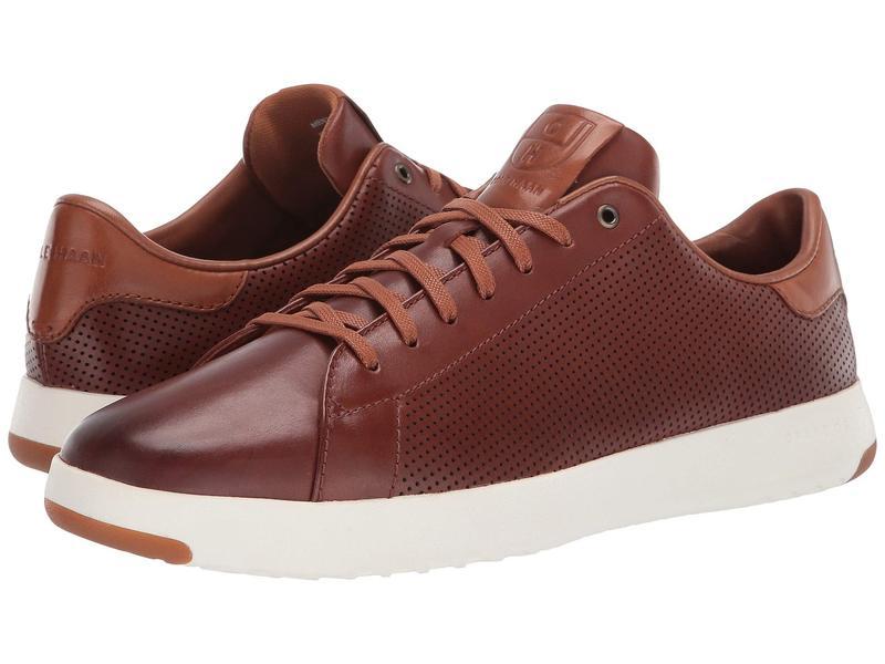 コールハーン メンズ スニーカー シューズ GrandPro Tennis Sneaker Woodbury Handstain/Perf
