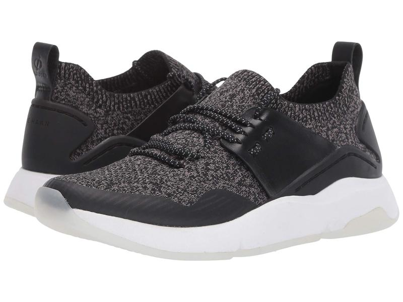 コールハーン レディース スニーカー シューズ ZER??GRAND All-Day Trainer Black Knit/Leather/Optic White