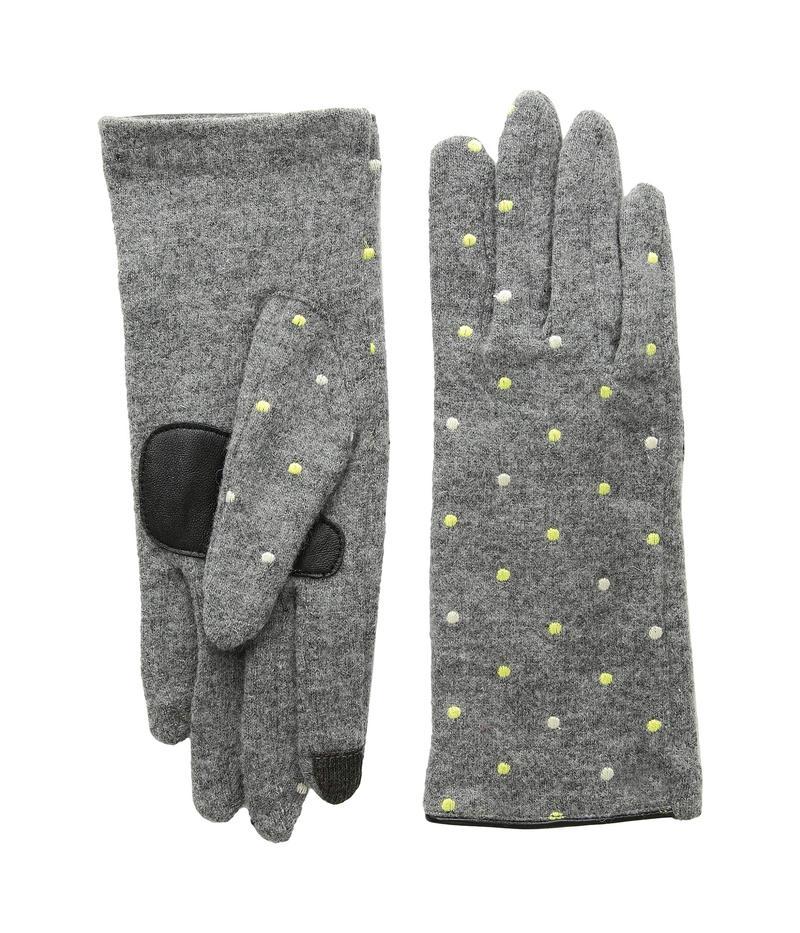 エコーデザイン レディース 手袋 アクセサリー Dot Dot Gloves Heather Grey