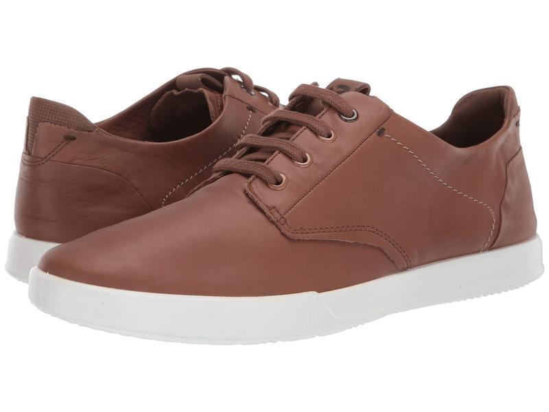 エコー メンズ スニーカー シューズ Collin 2.0 Soft Sneaker Cocoa Brown/Cocoa Brown