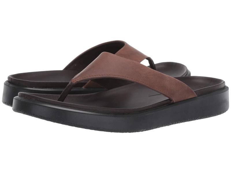 エコー メンズ サンダル シューズ Flowt Lux Thong Sandal Cocoa Brown
