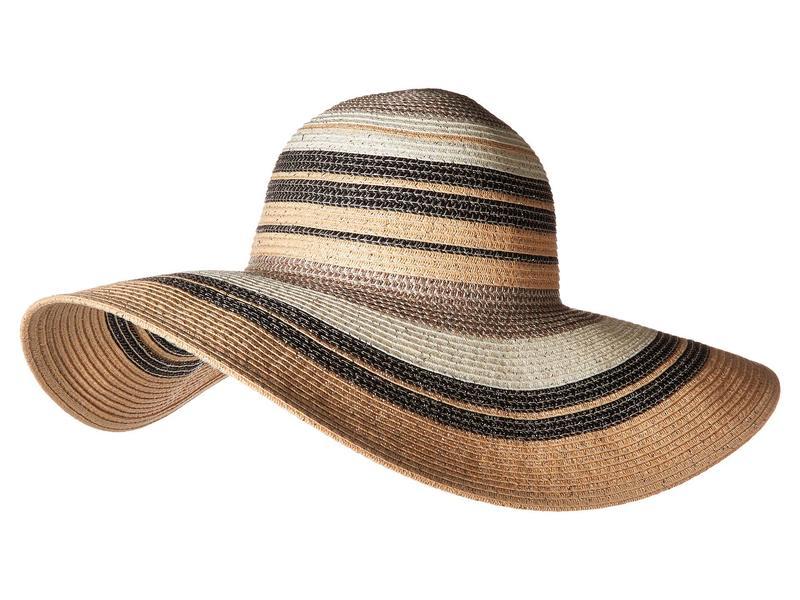 エコーデザイン レディース 帽子 アクセサリー Metallic Stripe Hat Black