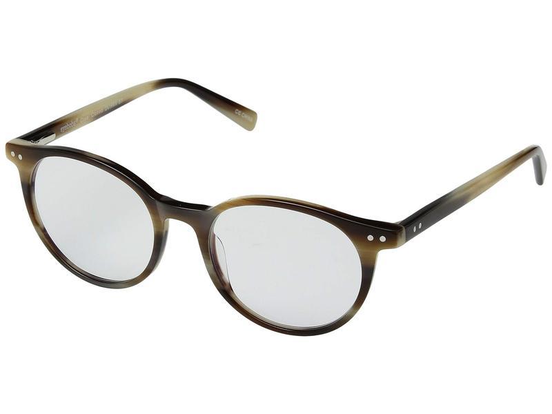 アイブブス メンズ サングラス・アイウェア アクセサリー Case Closed - Blue Light Blocking Glasses Brown Horn