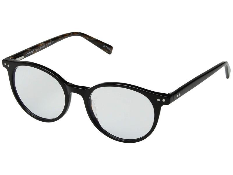 アイブブス メンズ サングラス・アイウェア アクセサリー Case Closed - Blue Light Blocking Glasses Black Horn