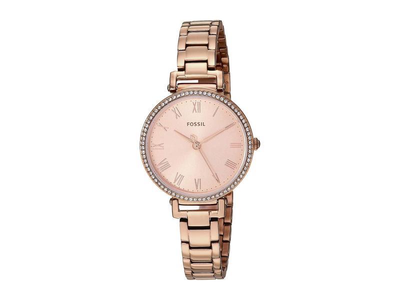 フォッシル レディース 腕時計 アクセサリー Kinsey - ES4447 Rose Gold