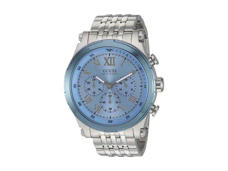ゲス メンズ 腕時計 アクセサリー U1104G4 Blue