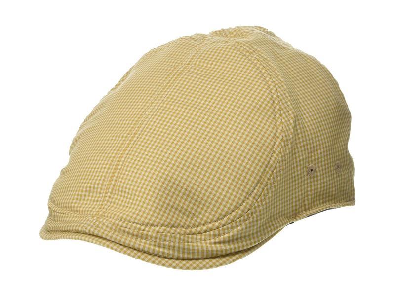 グーリンブラザーズ メンズ 帽子 アクセサリー Gingham Style Tan