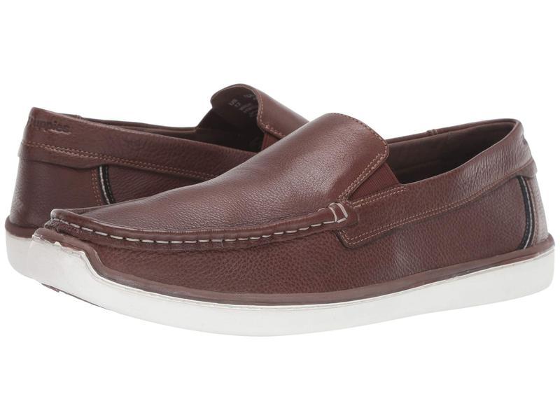 ハッシュパピー メンズ スニーカー シューズ Toby Venetian Saddle Brown Leather