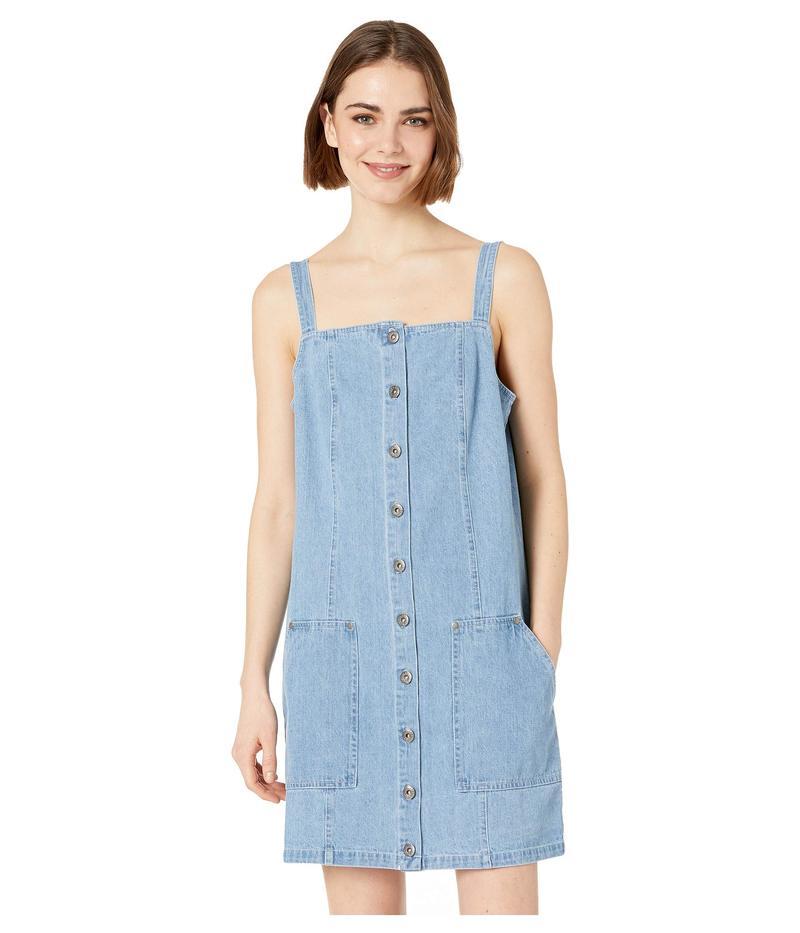 ジャック バイ ビービーダコタ レディース ワンピース トップス Blue Jean Baby Denim Overall Dress Denim