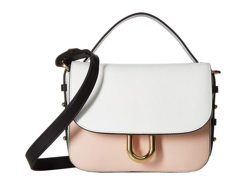 ジェイクルー レディース ハンドバッグ バッグ Contemporary Crossbody in Color Block Black/White/Sunwashed Pink