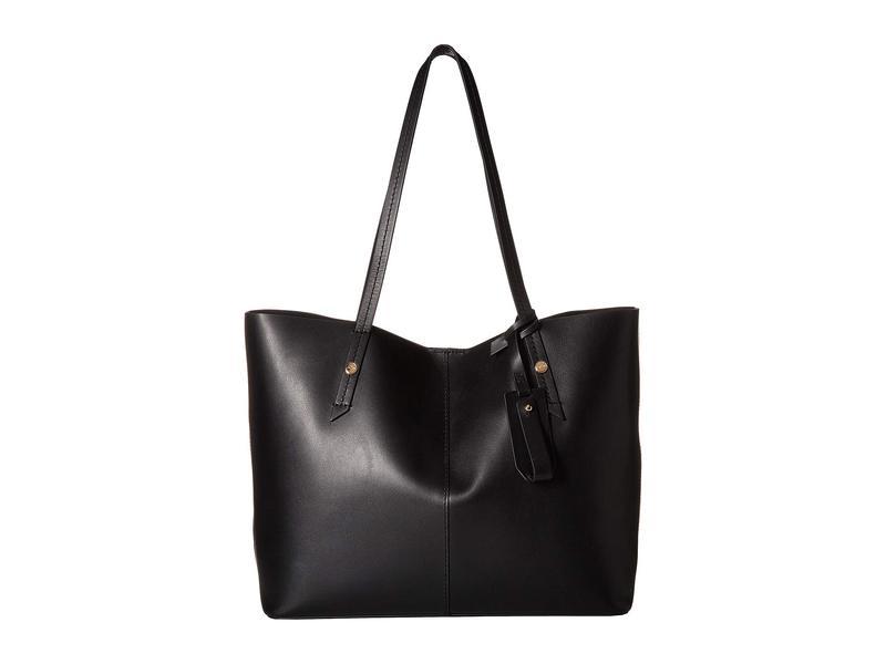 ジェイクルー レディース ハンドバッグ バッグ Smooth Leather Unlined E/W Tote Black