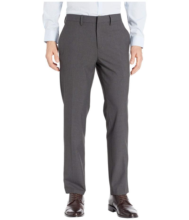 ケネスコール メンズ カジュアルパンツ ボトムス Solid Gab Four-Way Stretch Slim Fit Dress Pants Charcoal Heather