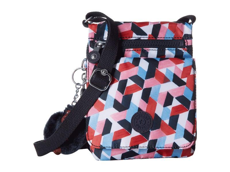 キプリング レディース ハンドバッグ バッグ If-Eldorado Small Shoulder/Travel Bag Forever Tiles