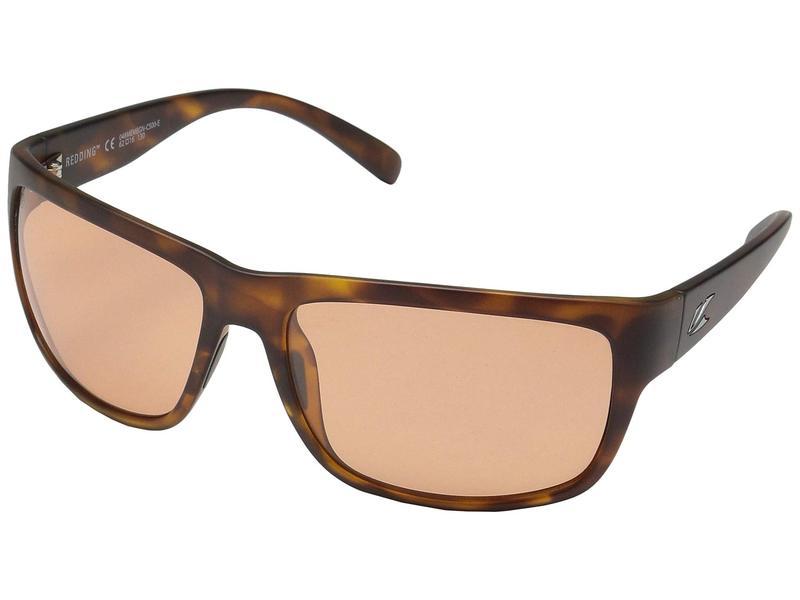 カエノン メンズ サングラス・アイウェア アクセサリー Redding Matte Tortoise/Copper 50