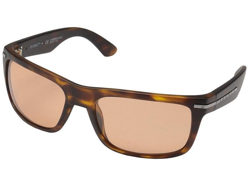 カエノン メンズ サングラス・アイウェア アクセサリー Burnet Matte Tortoise/Copper 50
