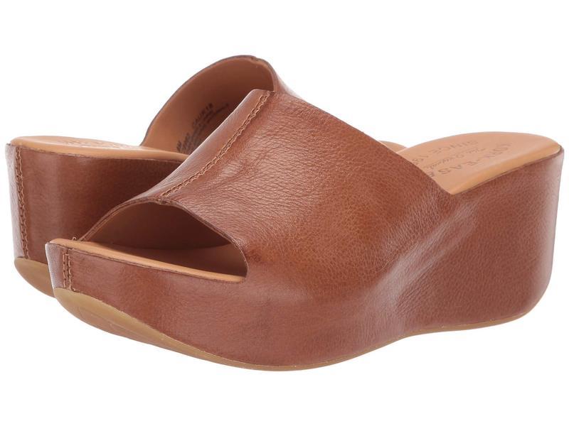 コークイーズ レディース ヒール シューズ Greer Brown Full Grain Leather