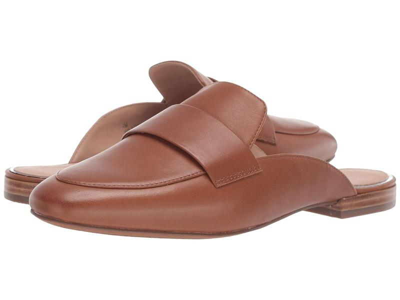 リネアパウロ レディース スリッポン・ローファー シューズ Annie Slip-On Mule Cognac Leather