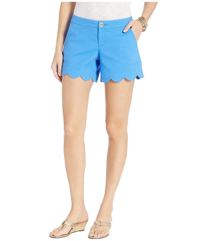 リリーピュリッツァー レディース ハーフパンツ・ショーツ ボトムス Buttercup Stretch Shorts Coastal Blue