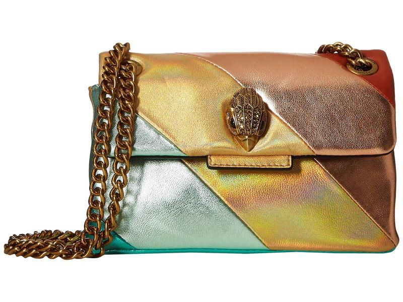 カートジェイガーロンドン レディース ハンドバッグ バッグ Mini Kensington Shoulder Bag Gold Combo