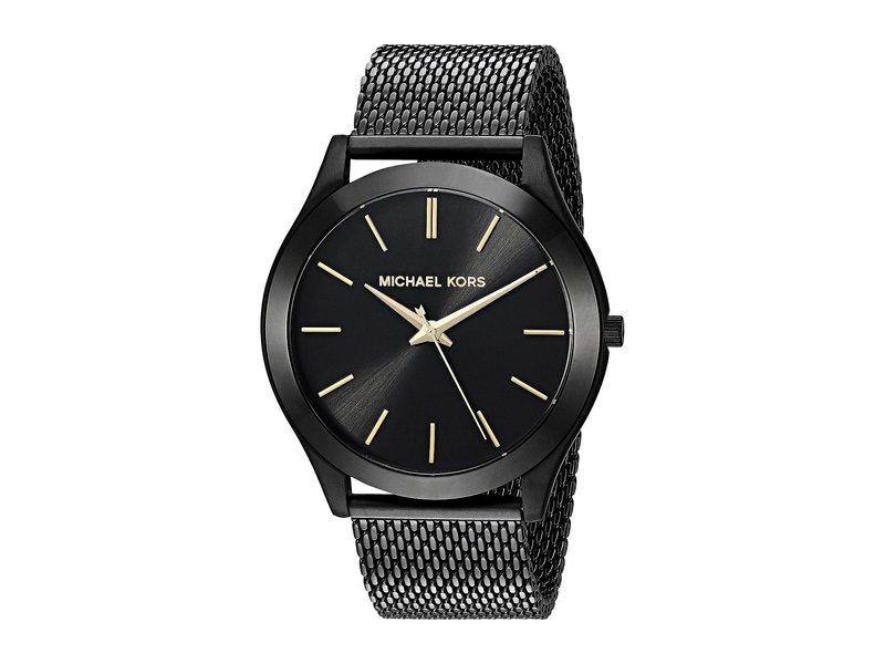 マイケルコース メンズ 腕時計 アクセサリー MK8607 - Slim Runway Black