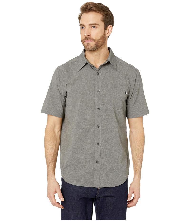 マーモット メンズ シャツ トップス Aerobora Short Sleeve Shirt Cinder