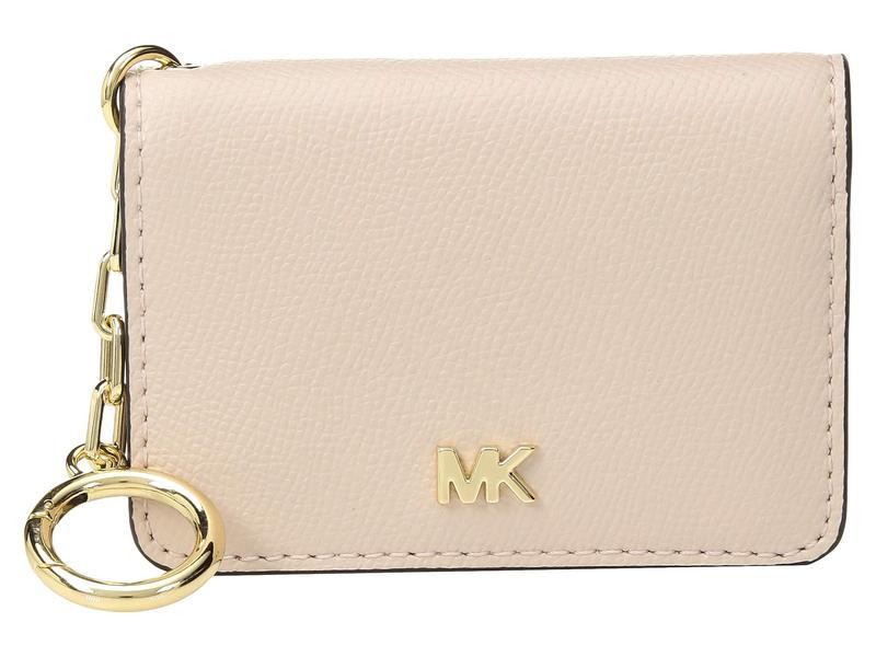 マイケルコース レディース 財布 アクセサリー Key Ring Card Holder Soft Pink