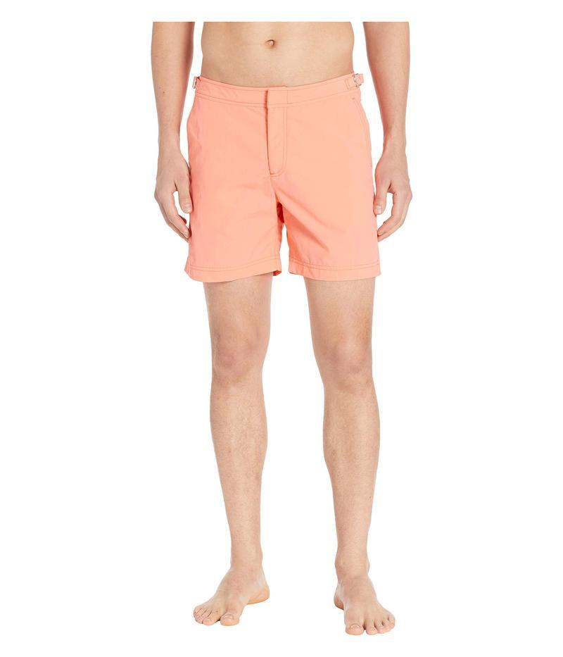 オールバー ブラウン メンズ ハーフパンツ・ショーツ 水着 Bulldog Swim Trunk Hot Coral