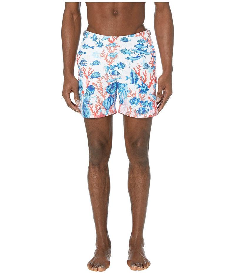 オールバー ブラウン メンズ ハーフパンツ・ショーツ 水着 Bulldog Swim Shorts Abstract