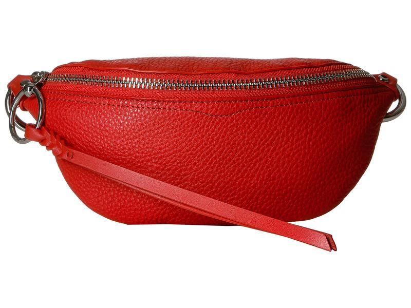 レベッカミンコフ レディース ボディバッグ・ウエストポーチ バッグ Bree Mini Belt Bag Tomato